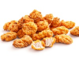 куриные кусочки с соусом сырным