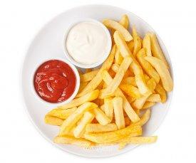 Картофель фри с томатным кетчупом Heinz